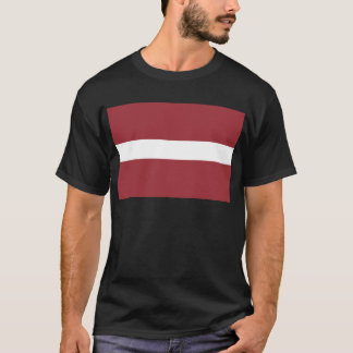 Low Cost! Latvia Flag T-Shirt
