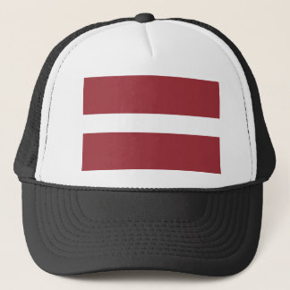 Low Cost! Latvia Flag Trucker Hat