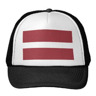 Low Cost! Latvia Flag Trucker Hat