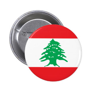Low Cost! Lebanon Flag 2 Inch Round Button