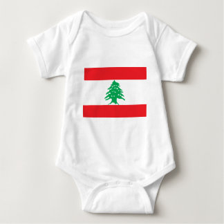 Low Cost! Lebanon Flag Baby Bodysuit