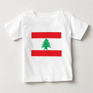 Low Cost! Lebanon Flag Baby T-Shirt