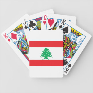 Low Cost! Lebanon Flag Bicycle Playing Cards
