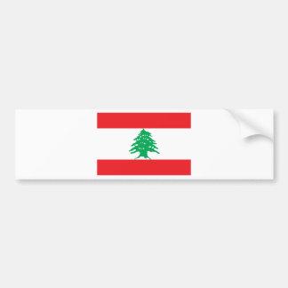 Low Cost! Lebanon Flag Bumper Sticker