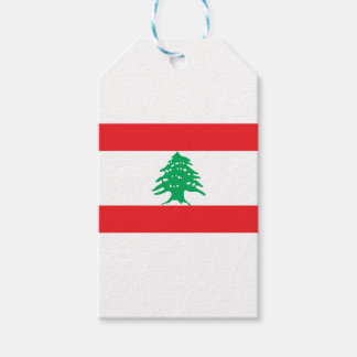 Low Cost! Lebanon Flag Gift Tags