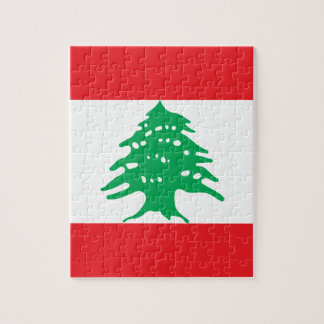 Low Cost! Lebanon Flag Jigsaw Puzzle