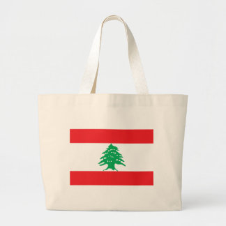 Low Cost! Lebanon Flag Large Tote Bag
