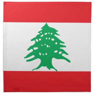 Low Cost! Lebanon Flag Napkin