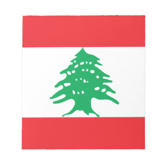 Low Cost! Lebanon Flag Notepad