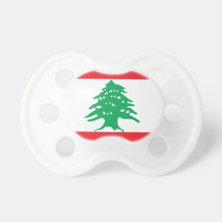 Low Cost! Lebanon Flag Pacifier