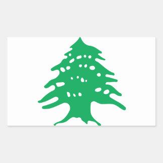 Low Cost! Lebanon Flag Sticker