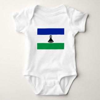 Low Cost! Lesotho Flag Baby Bodysuit