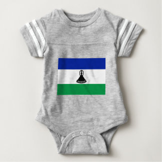 Low Cost! Lesotho Flag Baby Bodysuit