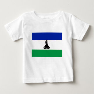 Low Cost! Lesotho Flag Baby T-Shirt