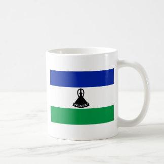 Low Cost! Lesotho Flag Coffee Mug