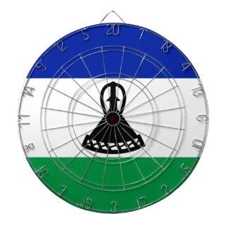 Low Cost! Lesotho Flag Dartboard