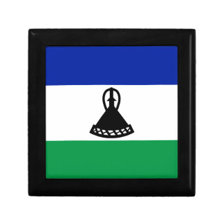 Low Cost! Lesotho Flag Gift Box