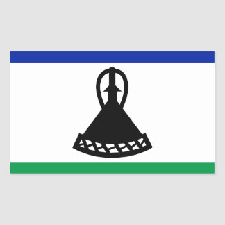 Low Cost! Lesotho Flag Sticker