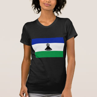 Low Cost! Lesotho Flag T-Shirt