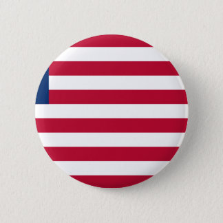 Low Cost! Liberia Flag 2 Inch Round Button