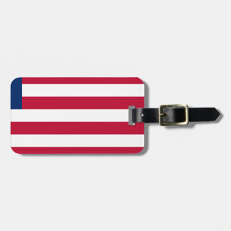 Low Cost! Liberia Flag Bag Tag