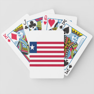 Low Cost! Liberia Flag Bicycle Playing Cards