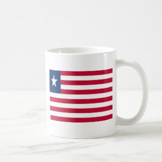 Low Cost! Liberia Flag Coffee Mug