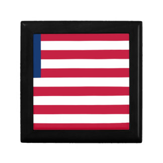 Low Cost! Liberia Flag Gift Box