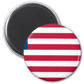 Low Cost! Liberia Flag Magnet