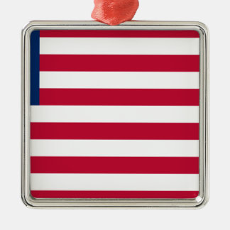 Low Cost! Liberia Flag Metal Ornament