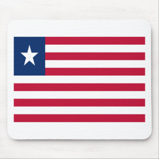 Low Cost! Liberia Flag Mouse Pad