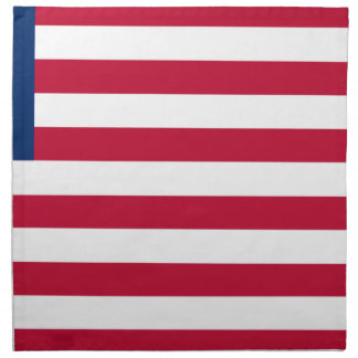 Low Cost! Liberia Flag Napkin