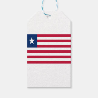 Low Cost! Liberia Flag Pack Of Gift Tags