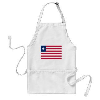 Low Cost! Liberia Flag Standard Apron