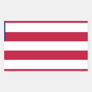 Low Cost! Liberia Flag Sticker