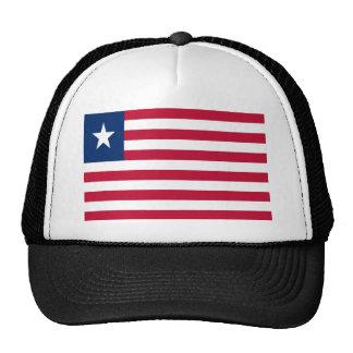 Low Cost! Liberia Flag Trucker Hat