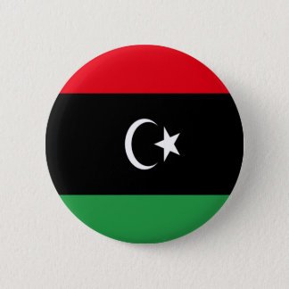 Low Cost! Libya Flag 2 Inch Round Button
