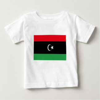 Low Cost! Libya Flag Baby T-Shirt