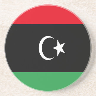 Low Cost! Libya Flag Coaster