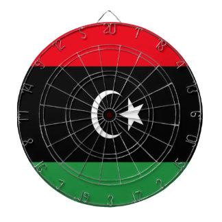 Low Cost! Libya Flag Dartboard