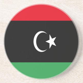 Low Cost! Libya Flag Drink Coasters