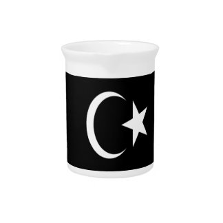 Low Cost! Libya Flag Drink Pitchers
