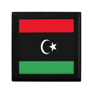 Low Cost! Libya Flag Gift Box
