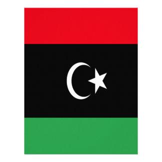 Low Cost! Libya Flag Letterhead