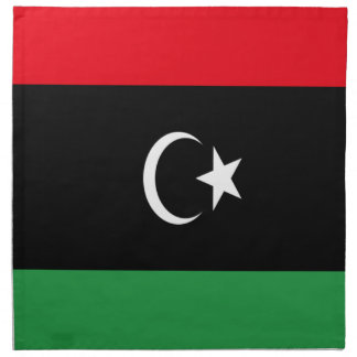Low Cost! Libya Flag Napkin