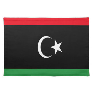 Low Cost! Libya Flag Placemat