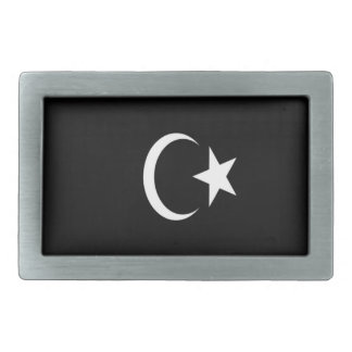Low Cost! Libya Flag Rectangular Belt Buckle