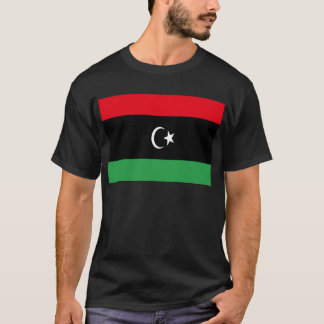 Low Cost! Libya Flag T-Shirt