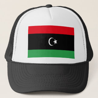 Low Cost! Libya Flag Trucker Hat