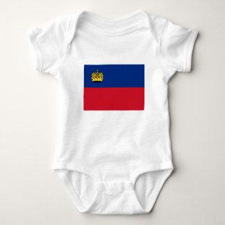 Low Cost! Liechtenstein Flag Baby Bodysuit